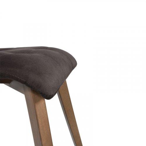 FYLLIANA 839-92-651 Καρέκλα Τραπεζαρίας Τ-17 Καφέ Με Sonoma Πόδια 42 x 48 x 87