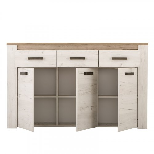 FORMA IDEALE 11005748 Κομότα Kent 160 3K3F Grey Oak / White Oak 160 x 36.5 x 98