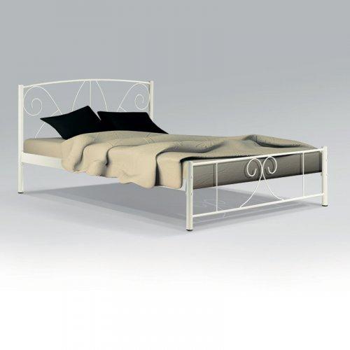 FYLLIANA 827-91-015 Κρεβάτι Σιδερένιο Μπεζ Daniel 90x200εκ.