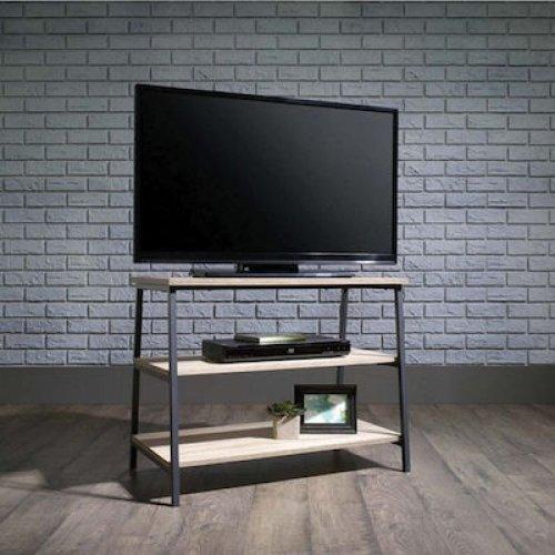 FYLLIANA 835-220-144 Έπιπλο Τηλεόρασης Μ-4 Sonoma Με Σκούρο Γκρί Μεταλλικό Σκελετό 80χ40χ62