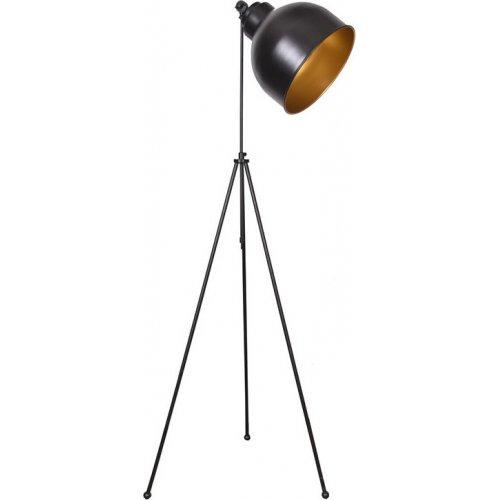 FYLLIANA 835-92-116 Λάμπα Δαπέδου 0021 Μαύρο-Χρυσό Μεταλλικό 0018920