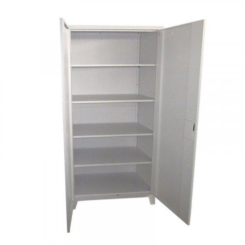 FYLLIANA 721-00-002 Μεταλλική Ντουλάπα Everet Λευκό 90 x 40 x 190