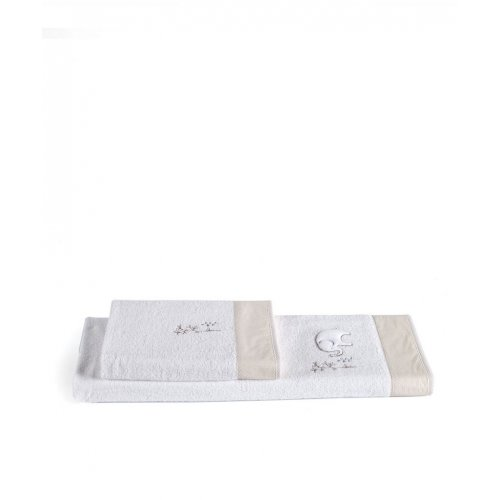 KENTIA Bambino 12 Σετ 2 Τεμ Παιδικές Πετσέτες 0020560