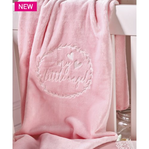 KENTIA Angel Βρεφική Κουβέρτα Κούνιας Velour Fleece 110 x140 0024239