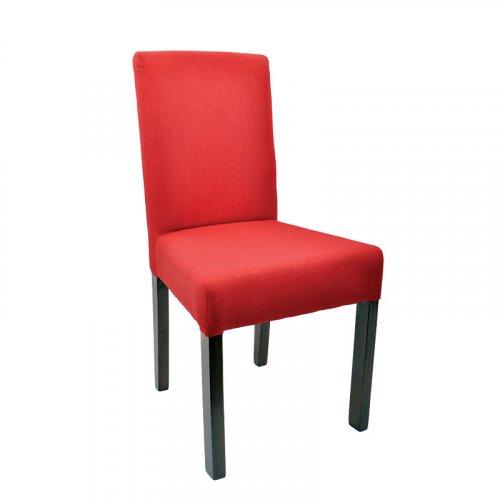 FYLLIANA 839-27-519  Καρέκλα Τραπεζαρίας T11 Sawana Κόκκινο Ύφασμα