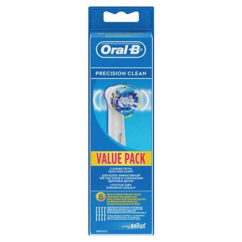 ORAL-B EB20-8 PRECISION CLEAN Ανταλλακτικό Οδοντόβουρτσας 8τμχ