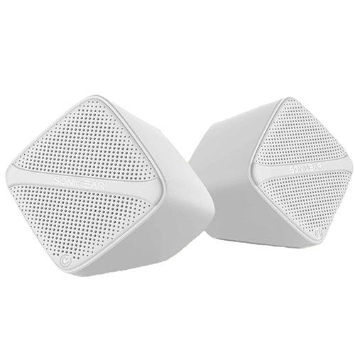 SONIC GEAR SCUBEW Speakers USB Digital AMP + Micro Driver White