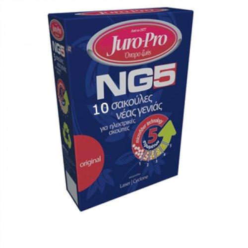 JURO-PRO NG5 για Laser/Cyclone/Silver Σακούλες Ηλεκτρικής Σκούπας 10τμχ