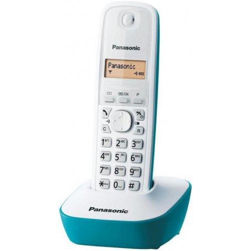 PANASONIC KX-TG1611GRC Ψηφιακό Ασύρματο Τηλέφωνο Τιρκουάζ 230088