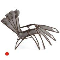 FYLLIANA 418-13-010 Καρέκλα Relax Γκρί