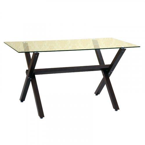 FYLLIANA C291 618-16-009 Τραπέζι Σαλονιού Χιαστή με Πόδια Wenge