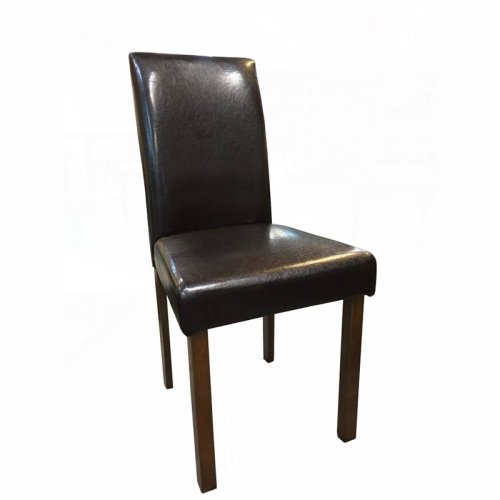 FYLLIANA LUNA 927-16-007 Καρέκλα Τραπεζαρίας Καφέ Δερμάτινη
