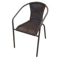 FYLLIANA HUTINGTON BISTRO WICKER 327-16-044 Καρέκλα Καφέ