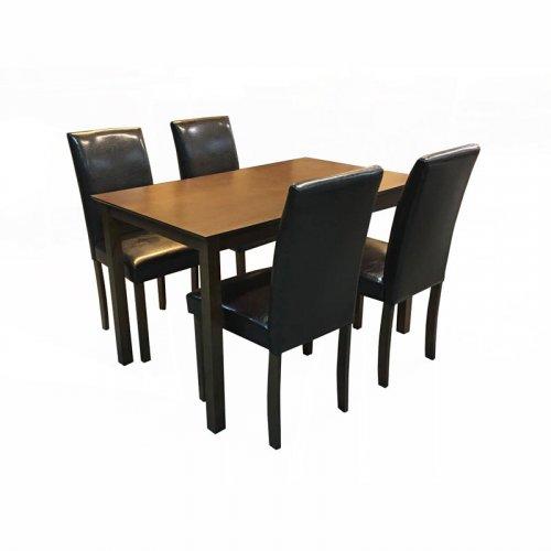 FYLLIANA FLN16 927-16-015 Τραπέζι 140*90 Καρυδι Στο Σετ δεν Περιλαμβάνονται οι Καρέκλες.