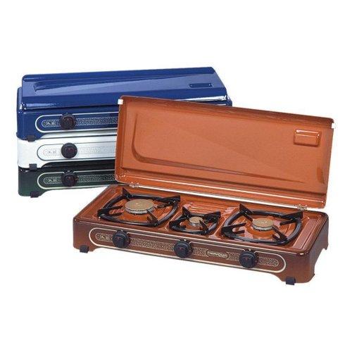 THERMOGAS Pn33 Συσκευή Υγραερίου 3 Εστίες Καφέ 100198