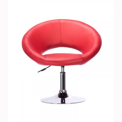 FYLLIANA SP-1081 425-26-014 Πολυθρόνα Περιστροφομένη Κόκκινο 69*62*67(80)
