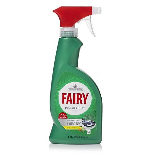FAIRY Power Spray 375ml - ΕΝΕΡΓΟ ΚΑΘΑΡΙΣΤΙΚΟ SPRAY γενικής χρήσης- FORMULA ΧΑΜΗΛΗΣ ΟΞΥΤΗΤΑΣ 0010129