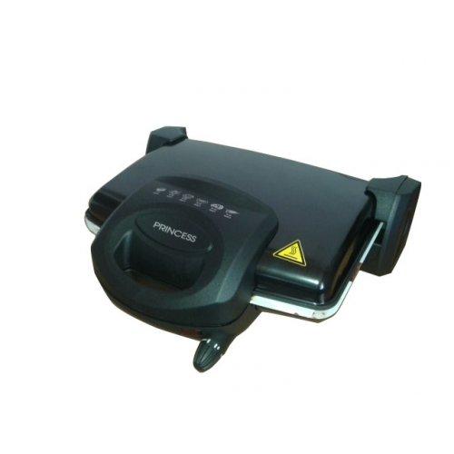 PRINCESS T-0232 Τοστιέρα Μαύρη 1800W - 6 Τοστ 0010085