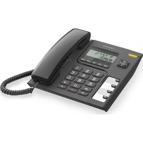 ALCATEL Temporis T56 Ενσύρματο Επιτραπέζιο Τηλέφωνο Μαύρο 0011233