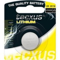 TECXUS CR 2016 BL-1 Μικρομπαταρία Lithium