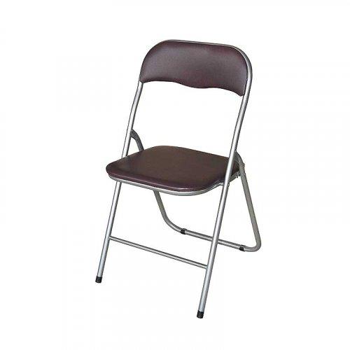 FYLLIANA A-080 205-15-017 Καρέκλα Σπαστή Καφέ 43 x 44 x 78 εκ