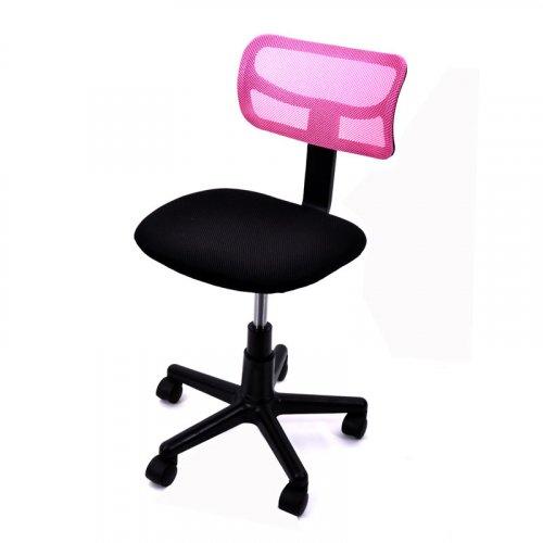 FYLLIANA 5001 093-26-082 Καρέκλα Γραφείου Ροζ χωρίς Μπράτσα