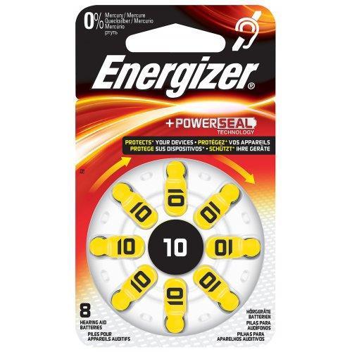 ENERGIZER ZINC AIR 10-8P Μπαταρία Ακουστικών Βαρηκοΐας 8τμχ