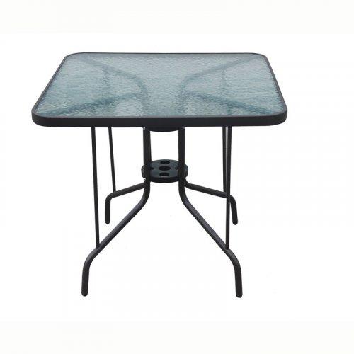 FYLLIANA Jt2-038g 327-17-062 Τραπέζι Τετράγωνο Καφέ 80 x 80 x 72 εκ.