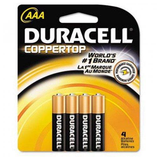 DURACELL MN2400B4 JP47 DLR 3/4 Αλκαλικές Μπαταρίες ΑΑΑ 1,5V 4τεμ.