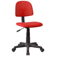 FYLLIANA 8103 093-27-083 Καρέκλα Γραφείου Χωρίς Μπράτσα Κόκκινη 38*45*77/89εκ.