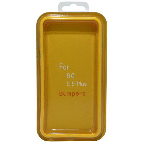 ANCUS BUMPER Θήκη για Apple iPhone 6 Plus/6S Plus Κίτρινη