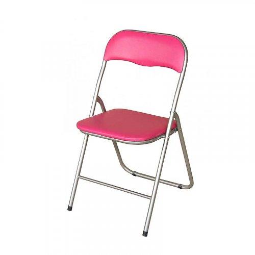 FYLLIANA Α-230 205-15-014 Καρέκλα Σπαστή Μωβ 43 x 44 x 78 εκ.