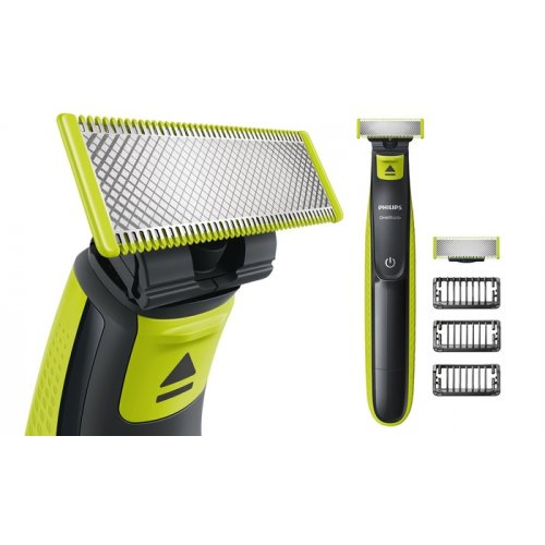 PHILIPS QP2520/30 OneBlade Επαναφορτιζόμενη Ξυριστική Μηχανή Wet & Dry 0014054