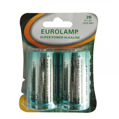 EUROLAMP 147-24103 Μπαταρία Αλκαλική 1.5 V D LR20 0014091