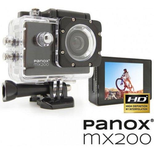 EASYPIX Panox MX200  Action Camera & Web Camera - Αδιάβροχη (με θήκη) - HD - Οπτικό Πεδίο: 90°