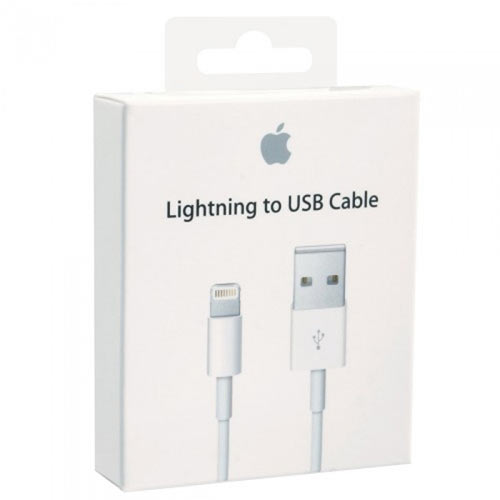 APPLE MD818ZM/A (AP10001) Καλώδιο Σύνδεσης Lightning to Usb Cable  1m