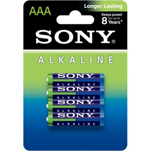 SONY AM4L-B4D AAA LR03 1.5V Αλκαλικές Μπαταρίες Longer Lasting (4τμχ)