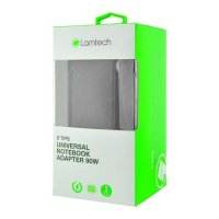 LAMTECH LAM100037 Universal Notebook Adapter 90W 19V-20V 8 Tips