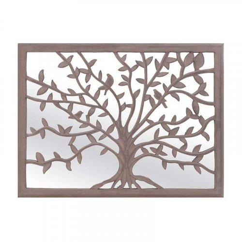 INART 3-70-116-0005 Διακοσμητικό τοίχου με καθρέφτη 61x2x76εκ