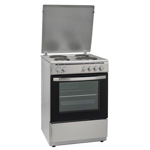 ROBIN BN-64 Ηλεκτρική Κουζίνα Εμαγιέ 65lt - A - 60cm Ιnox (Με Αέρα) 0015392