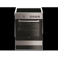 BEKO FSM 67010 GX Ηλεκτρική Κουζίνα με Κεραμική Εστία 66lt - Α - 60cm Inox