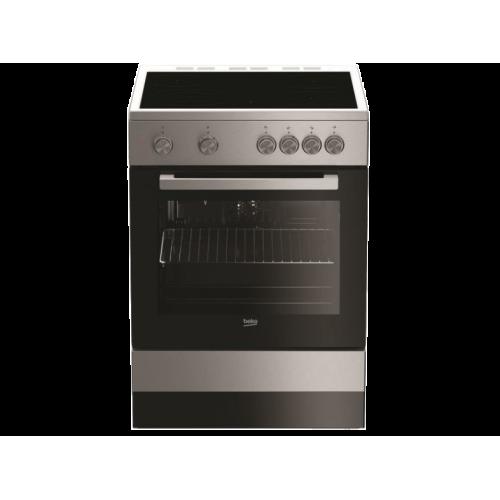 BEKO FSM 67010 GX Ηλεκτρική Κουζίνα με Κεραμική Εστία 66lt - Α - 60cm Inox 0015221