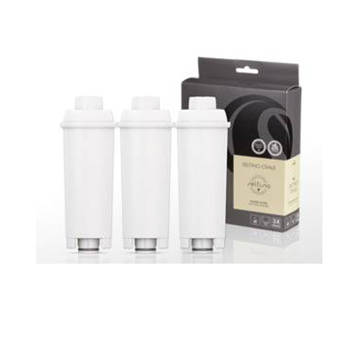 SELTINO OVALE Φίλτρο Νερού για Μηχανές Espresso (Αντικαθιστά Delognhi SER3017) 3τεμ