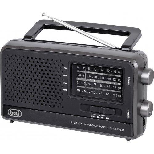 TREVI MB-746 W Φορητό Ραδιόφωνο Παγκόσμιας Λήψης Μαύρο 0016374