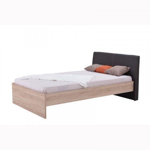 FORMA IDEALE BEN 11004764 Κρεβάτι 130χ200 Sonoma/Καφέ
