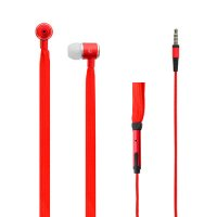 LAMTECH LAM020335 Shoelace Music Earphones 3,5 mm  Jack Red