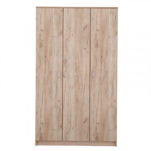 FORMA IDEALE HANA 3K 11003067 Ντουλάπα Grey Oak 120*52*205εκ.