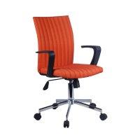 FYLLIANA 6910 093-27-110 Καρέκλα Γραφείου Πορτοκαλί 57*58*90.5/99εκ.