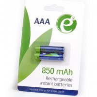 ENERGENIE EG-BA-AAA8R-01 READY TO USE RECHARGEABLE BATTERIES AAA 850MAH 2PCS/PACK
