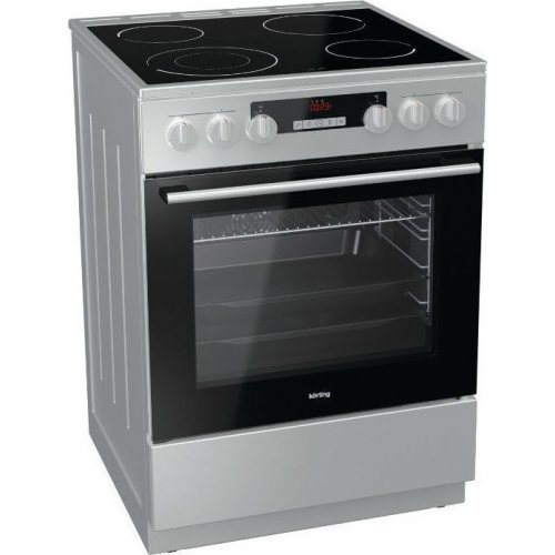 KORTING KEC 6352 IC Κουζίνα με Εστίες Κεραμικές 67lt  - Α - 60 cm - Inox 0016745